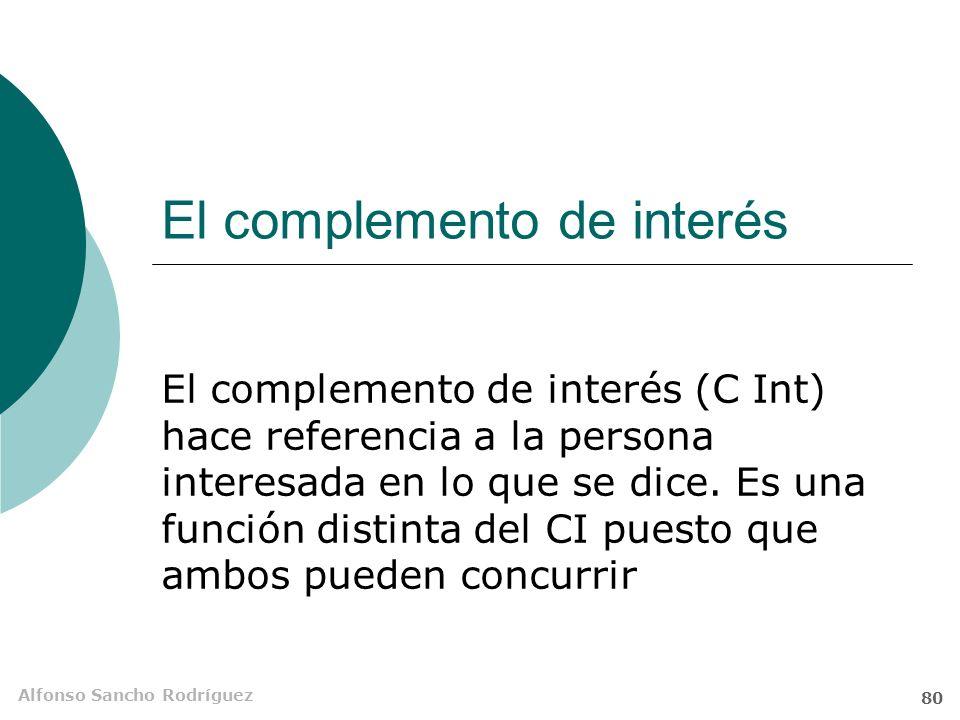 Alfonso Sancho Rodríguez 79 B = A A = B Estructuras ecuacionales El médico es Enrique.