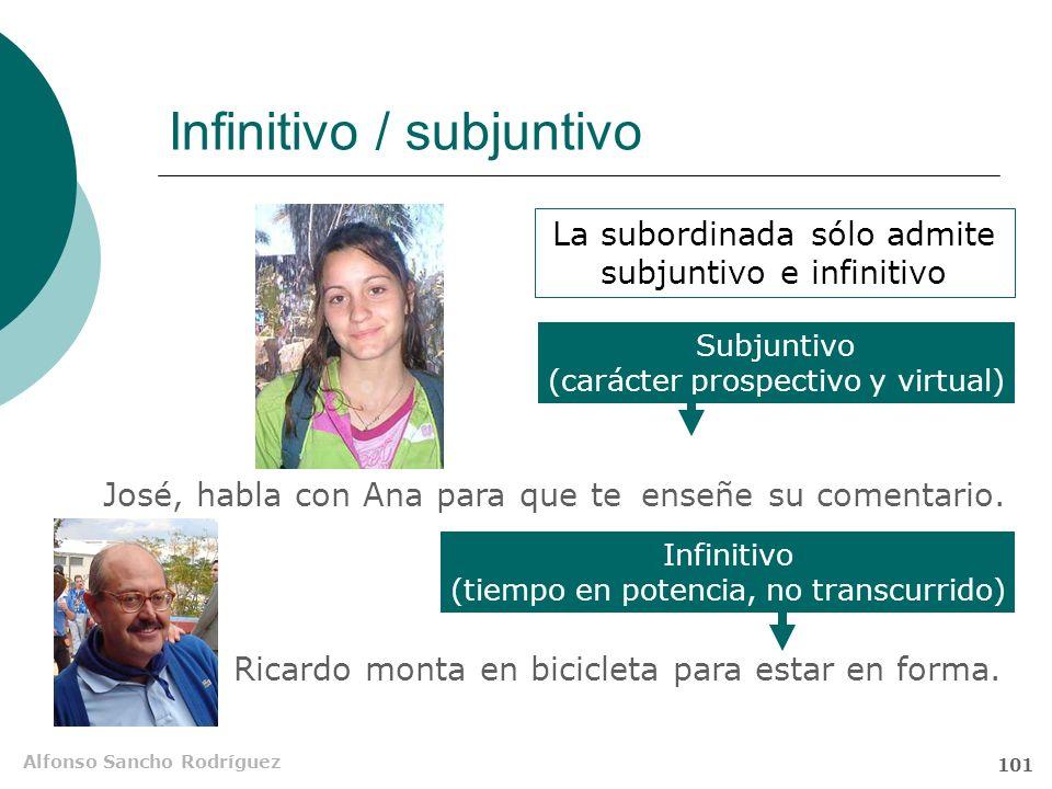 Alfonso Sancho Rodríguez 100 Significado Hazle la pelota a Maxipara que te apruebe Prospectiva La acción de aprobar se producirá en el futuro Virtual