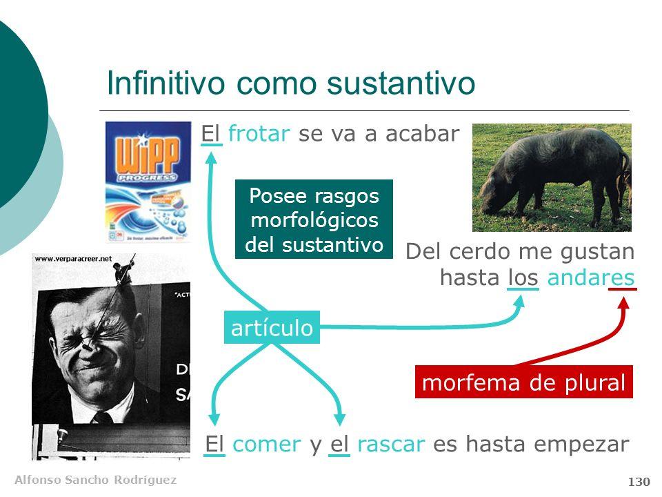 Alfonso Sancho Rodríguez 129 Carácter híbrido del participio Amnistía Internacional los fotografió La subordinada de participio desempeña una función