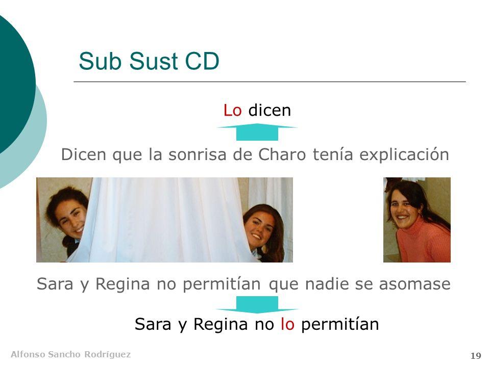 Alfonso Sancho Rodríguez 18 Sub Sust S Es raroque estudiesyno apruebes que Sub Sust 1Sub Sust 2 Eso me pasa a mí Elipsis del segundo nexo, muy frecuen