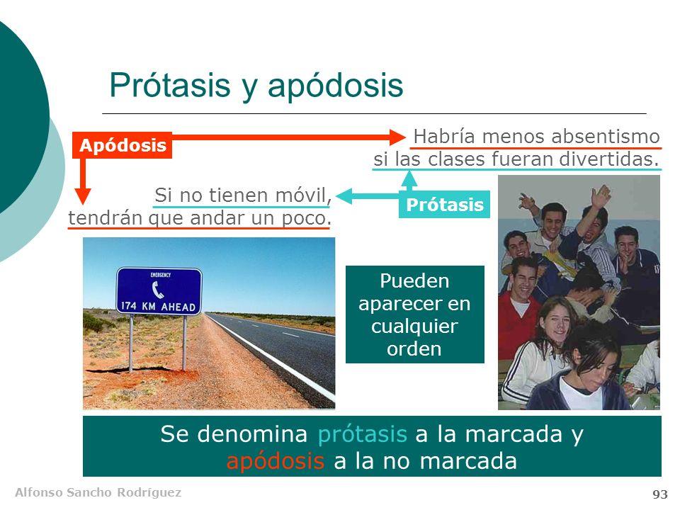 Alfonso Sancho Rodríguez 92 Subordinadas condicionales Son subordinadas condicionales las oraciones transpuestas que aluden a la causa hipotética de l