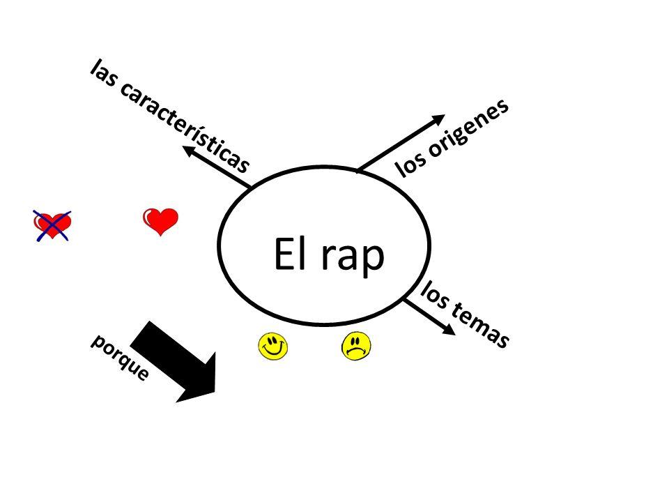los origenes porque las características El rap los temas