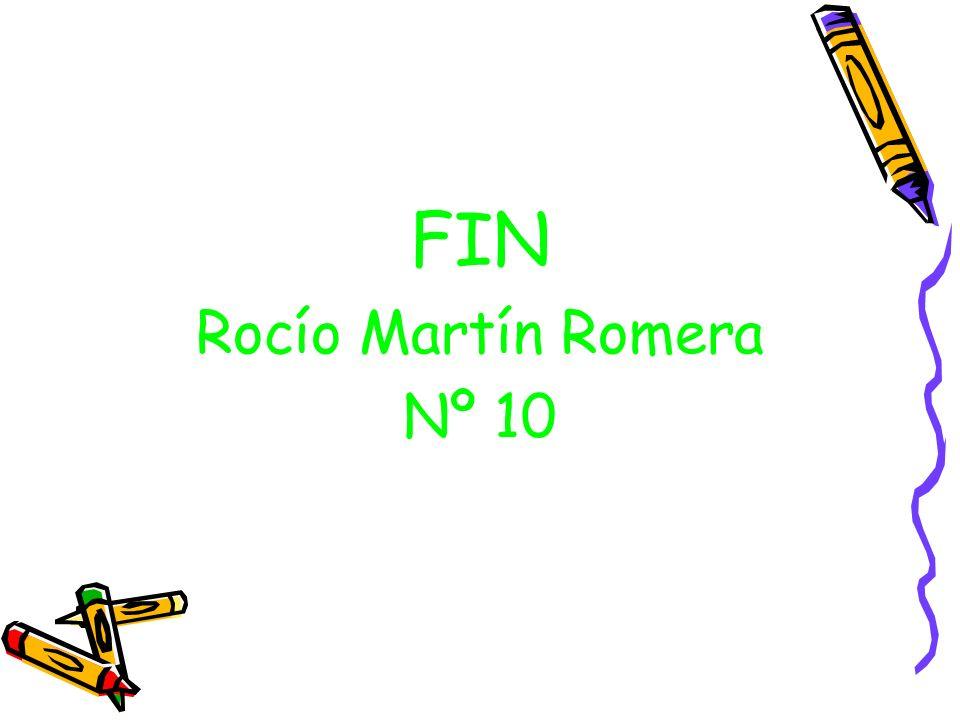 FIN Rocío Martín Romera Nº 10