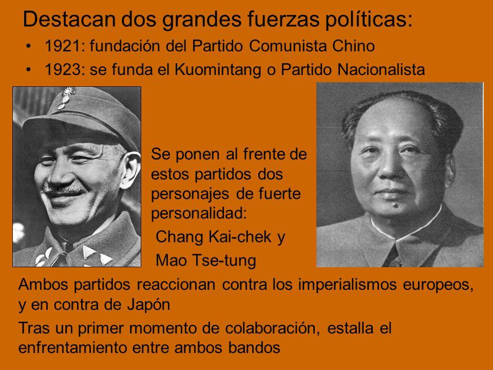 Ruptura Chino-Soviética: crisis en las relaciones entre la República Popular China y la Unión Soviética El modelo del comunismo Chino (Maoísmo) parece más apropiado para los países del Tercer Mundo (agrícolas y más atrasados)