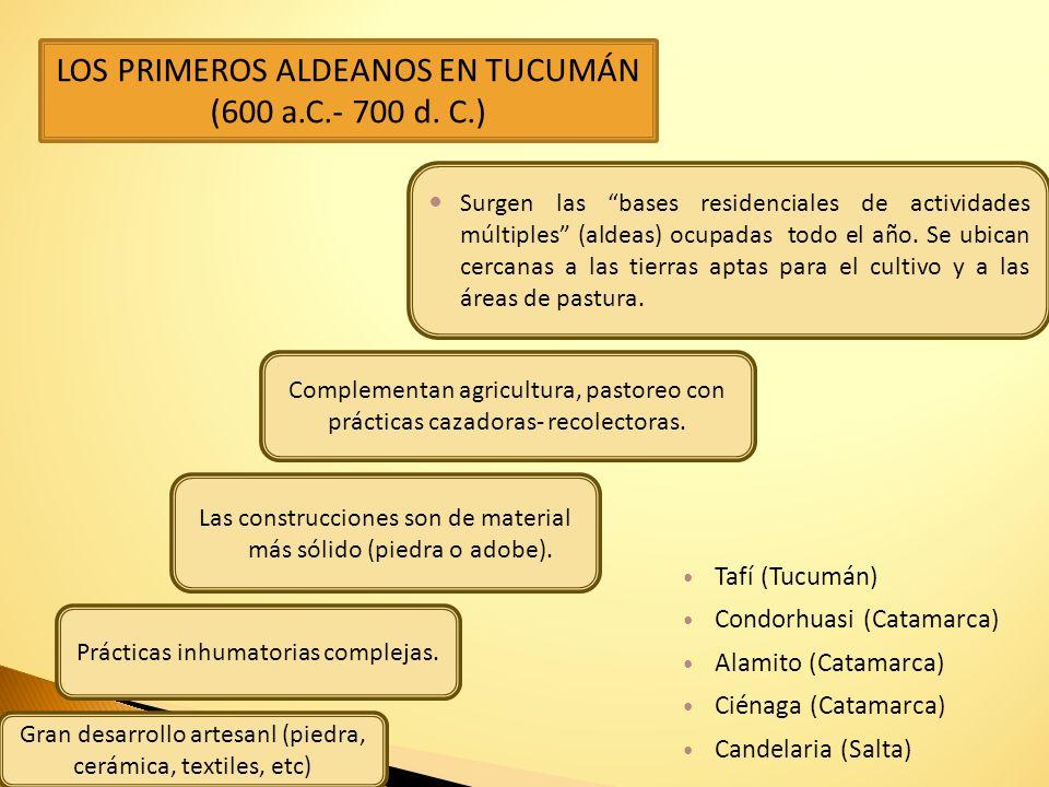 Inca Cueva 4 10.6 - 9.2 (Jujuy) Huachichocana 3 10.2 - 8.6 (Jujuy) ¿Quiénes poblaron la región del NOA?