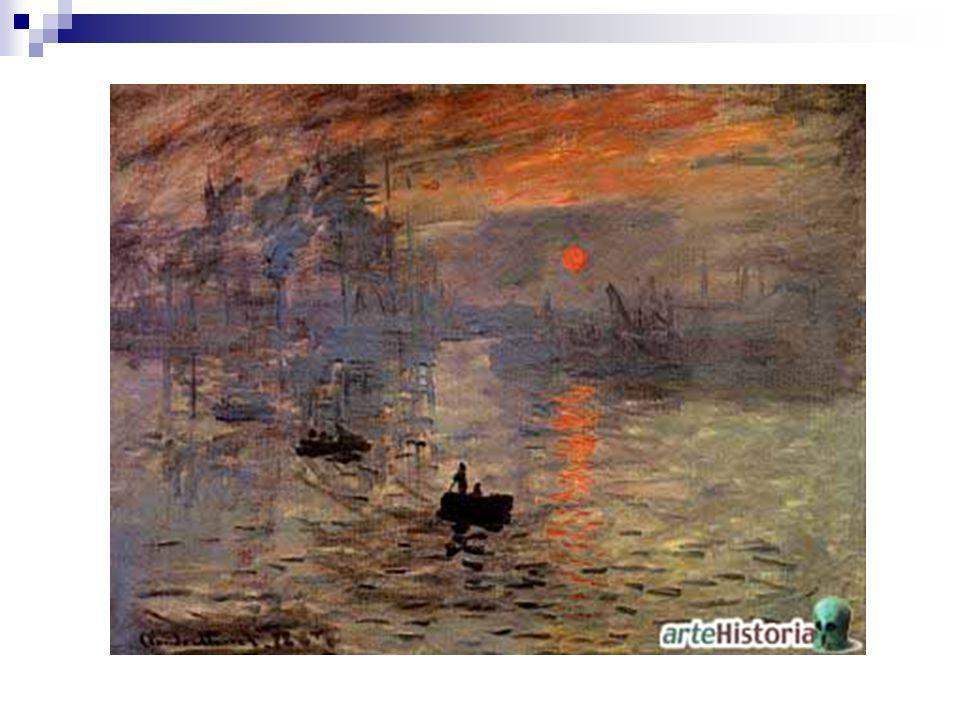FICHA TÉCNICA Título: Impresión, sol naciente Autor: Claude Oscar Monet Fecha:1872 Museo: Museo Marmottan de París Características: 47 x 64 cm.