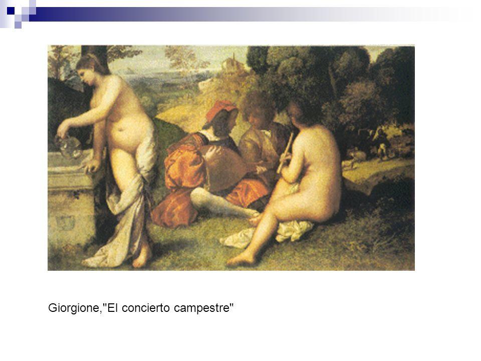 Composición: El cuadro chocó tanto por su tema, como por la manera de estar pintado.