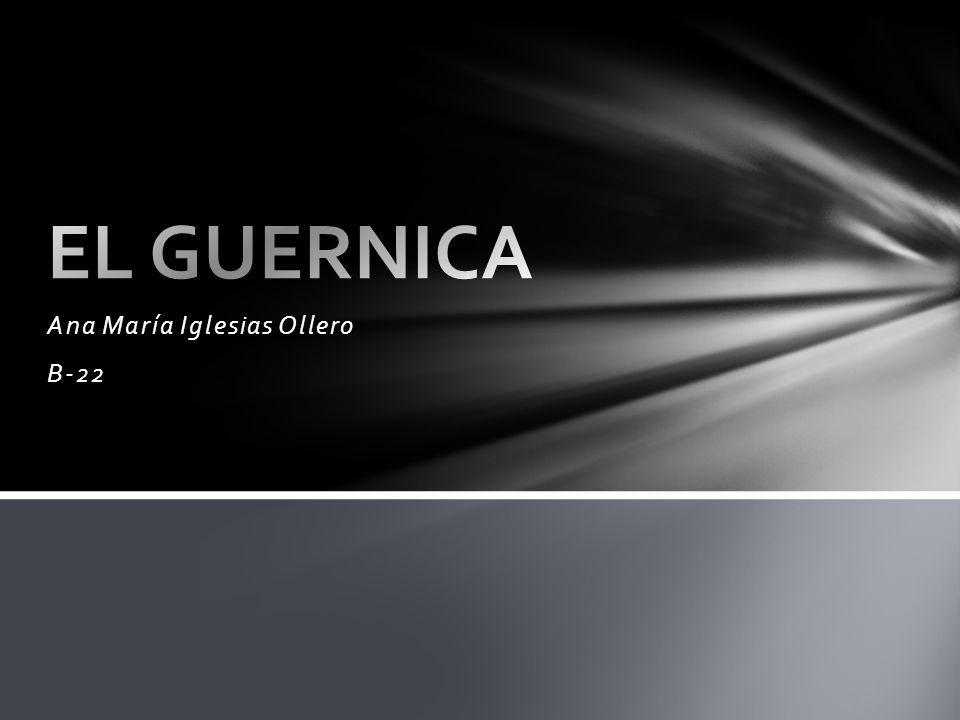 Título: Guernica.Autor: Pablo Picasso. Cronología: 1937.