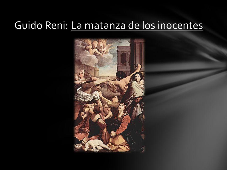 Guido Reni: La matanza de los inocentes