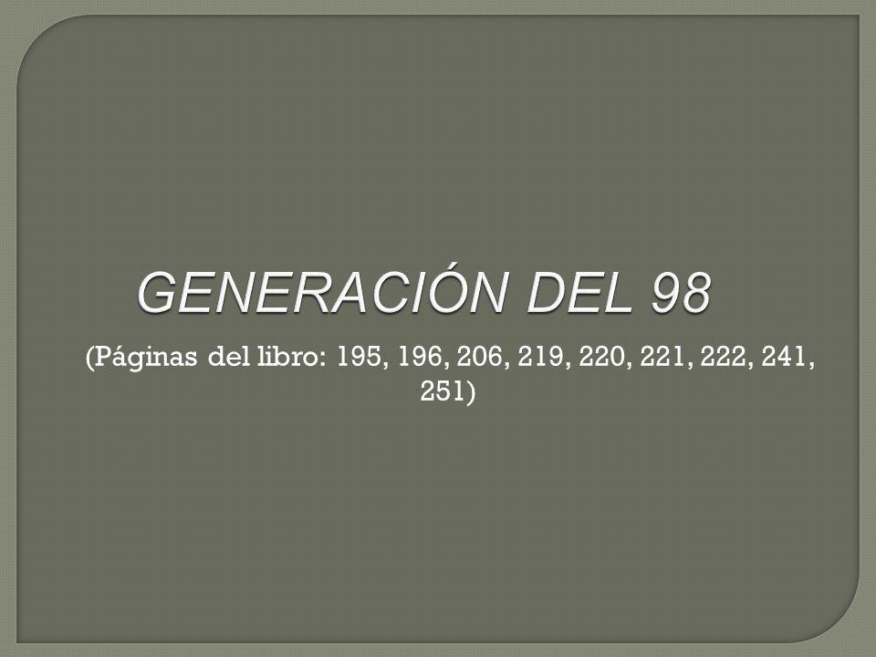 Rasgos generales Rasgos formales Requisitos Evolución Influencias literarias Esquema de novela Esquema de ensayo Autores Miguel de Unamuno José Martínez Ruiz.