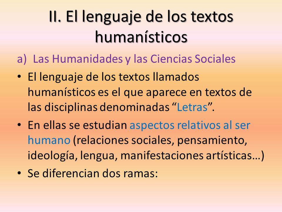 CIENCIAS SOCIALES Analizan la realidad social del ser humano, su entorno social Se incluyen disciplinas como: -Derecho -Economía -Sociología -Historia -Geografía HUMANIDADES Analizan aspectos individuales del ser humano y que influyen en su formación: Se incluyen disciplinas como: -Filosofía -Filología -Estética -Psicología
