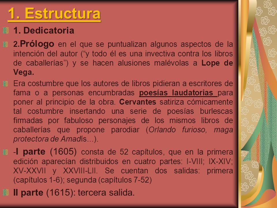 Actividades 1.Resume el contenido del texto. ¿Pertenece a la I parte o a la II de El Quijote.