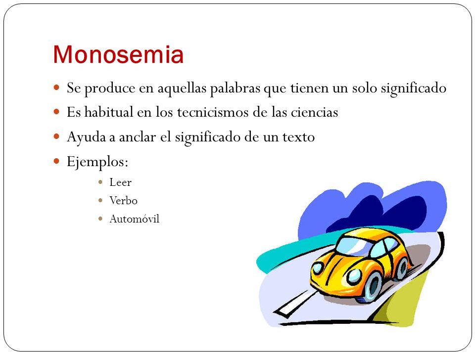 Sinonimia Varias palabras comparten un mismo significado pretéritopasadoanterior Oculista/oftalmólogo