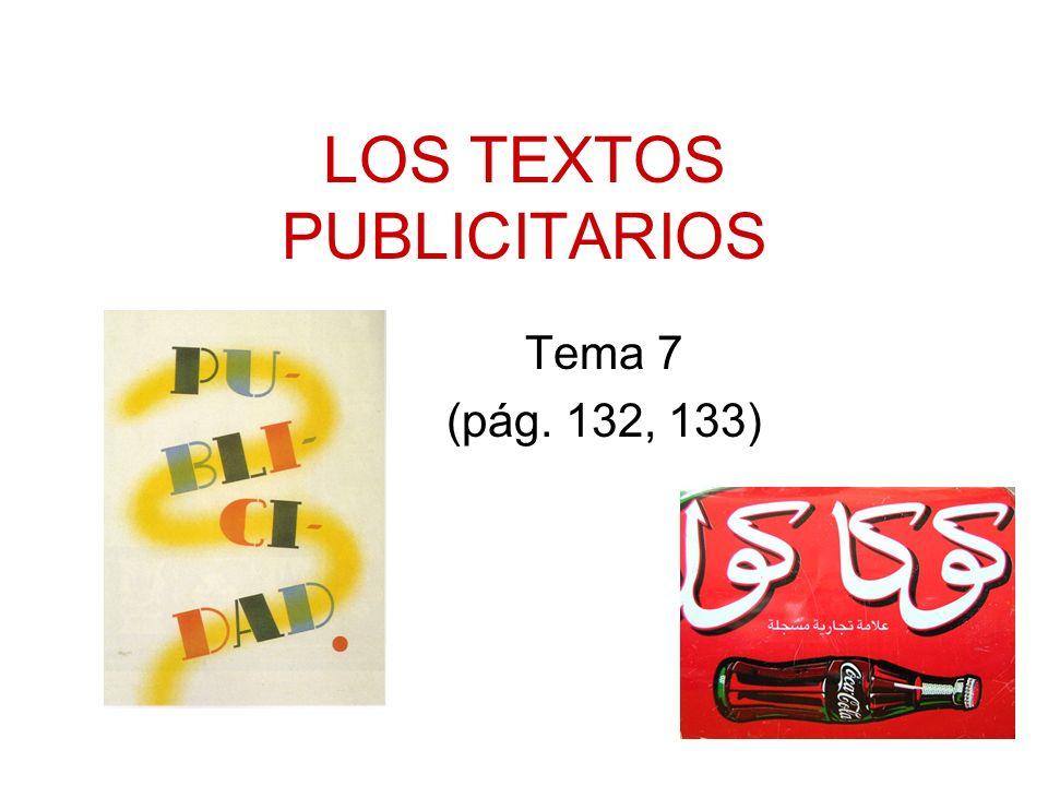 Índice del tema: Propaganda y publicidad: relaciones Tipos de publicidad Valores connotativos de la publicidad La publicidad como acto de comunicación El lenguaje publicitario: –Imagen –Texto –Recursos estilísticos