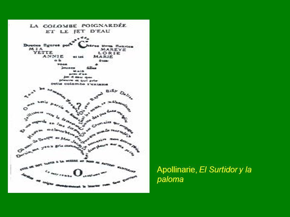 Apollinarie, El Surtidor y la paloma
