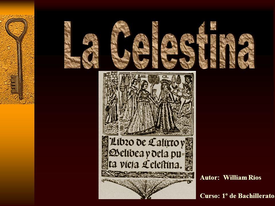Ficha técnica Su texto sufrió diversos cambios respecto a su primera edición (1499) que constaba de 16 actos y se titulaba comedia.