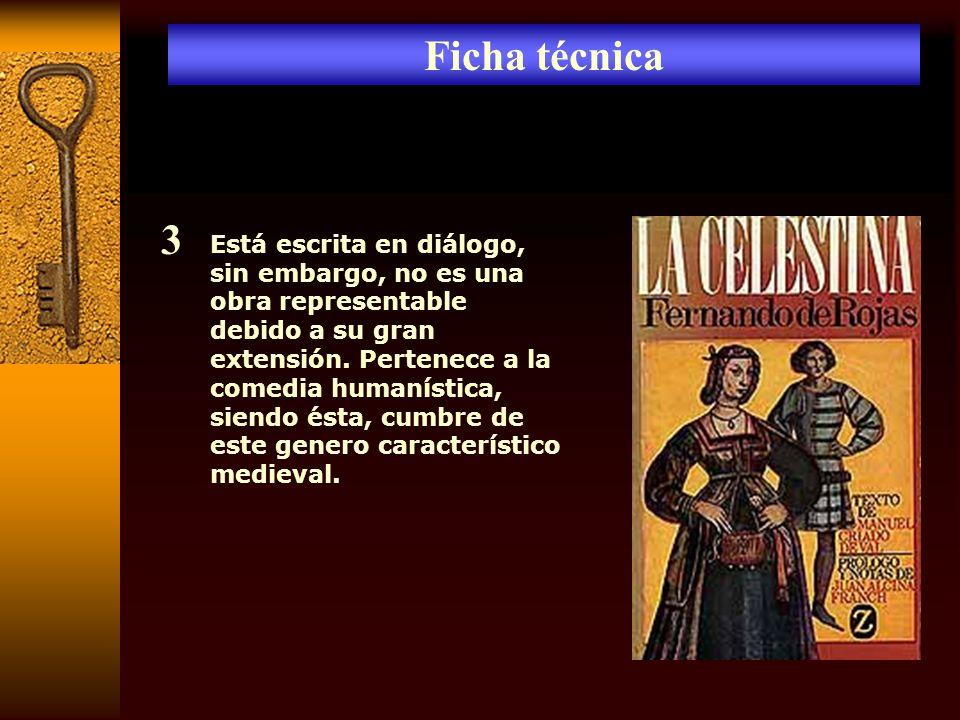 Lenguaje y disposición Calisto y Melibea utilizan un lenguaje culto de estilo elevado, en Calisto llega a ser una retórica hinchada y pedante.