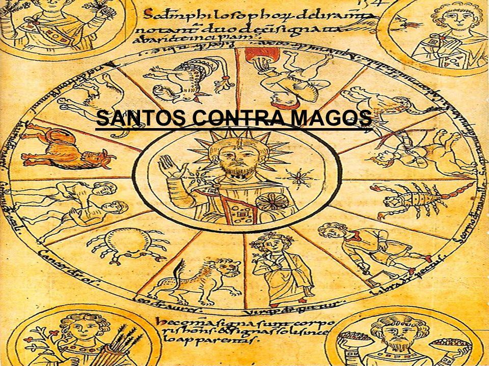 Pacto con el diablo Se atribuía a los acusados de brujería un pacto con el Diablo.