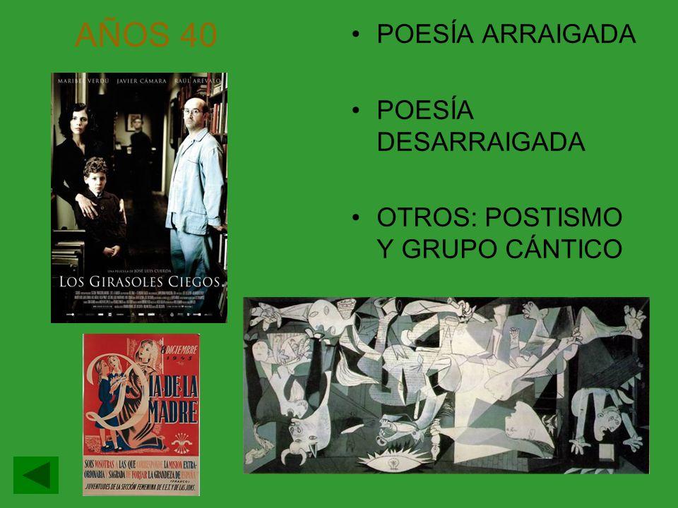 AÑOS 40: POESÍA ARRAIGADA Rev.El Escorial y Garcilaso.