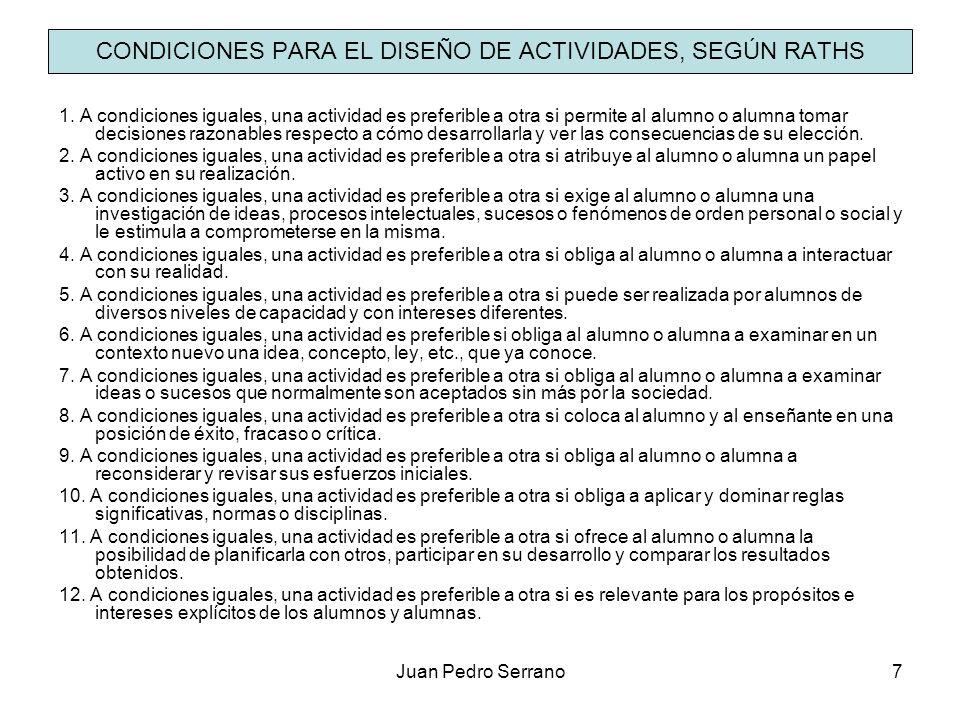 Juan Pedro Serrano8 CONCEPTOS PREVIOS ATENCIÓN A LA DIVERSIDAD La LOE dedica el título II, capítulo 1º, al alumnado con necesidades específicas de apoyo educativo.