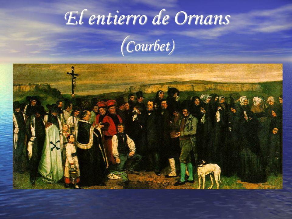 Características del cuadro Marcó el nacimiento del Realismo.