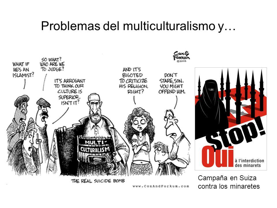 Problemas del multiculturalismo y… Campaña en Suiza contra los minaretes