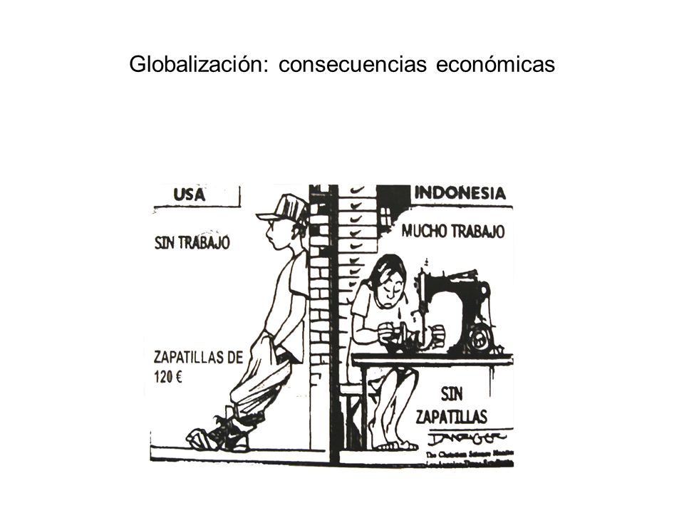Globalización: consecuencias económicas