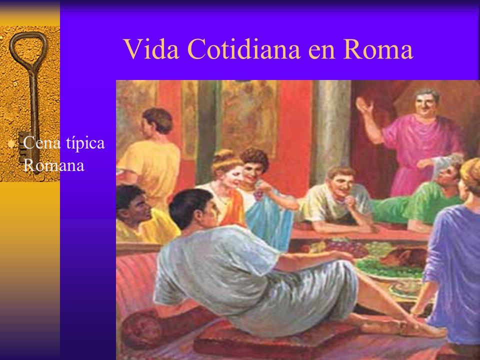 Vida Cotidiana en Roma Vestiment a típica de los Patricios