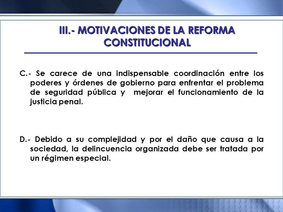 XVI.- PROYECCION DE LOS NUEVOS PRINCIPIOS EN LA CONSTITUCION 1.- Publicidad.