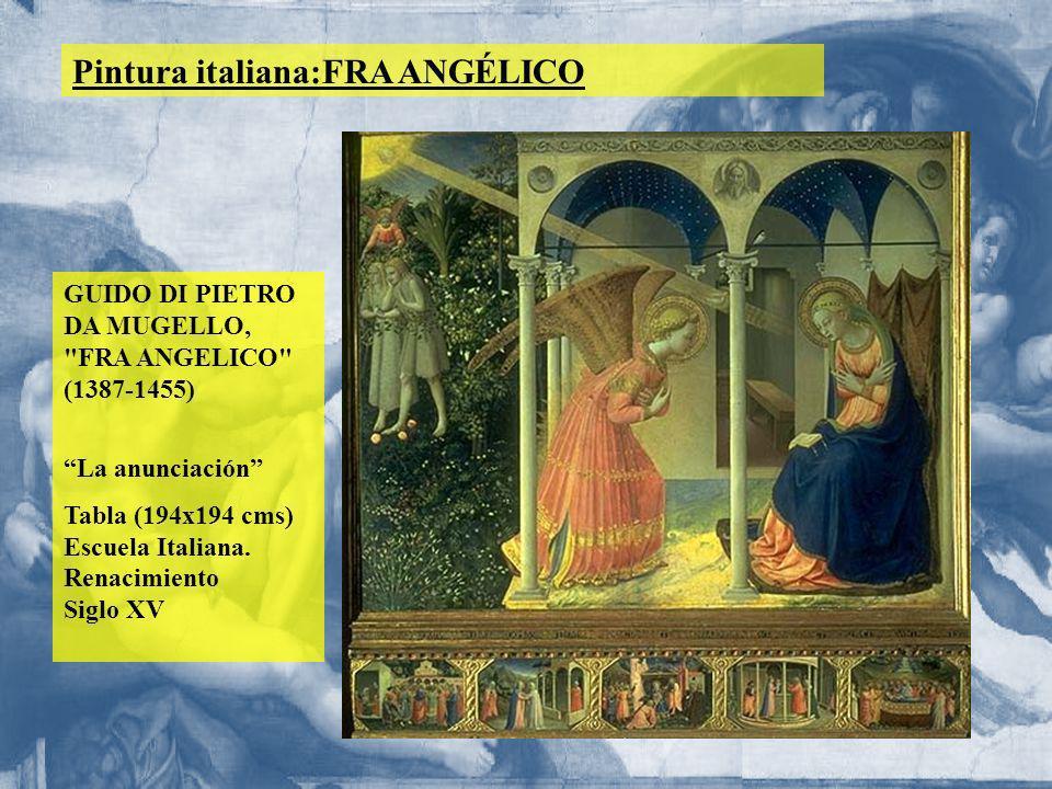 Pintura italiana:FRA ANGÉLICO GUIDO DI PIETRO DA MUGELLO,