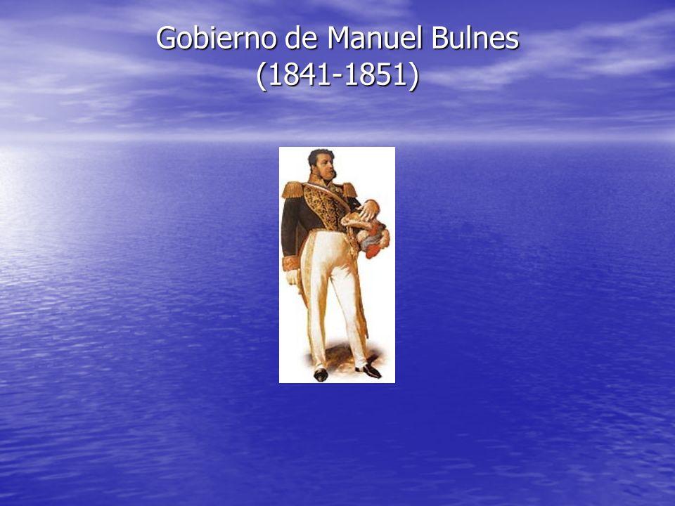 Gobierno de Manuel Bulnes (1841-1851)