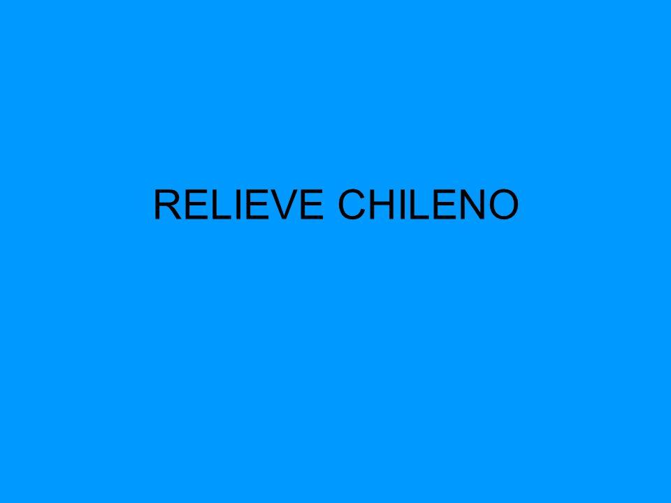 El Relieve Chileno Convencionalmente se afirma que nuestro país se ordena a través de una serie de unidades morfoestructurales distribuidas en sentido longitudinal, las cuales tienen un desarrollo diferenciado a lo largo del territorio.
