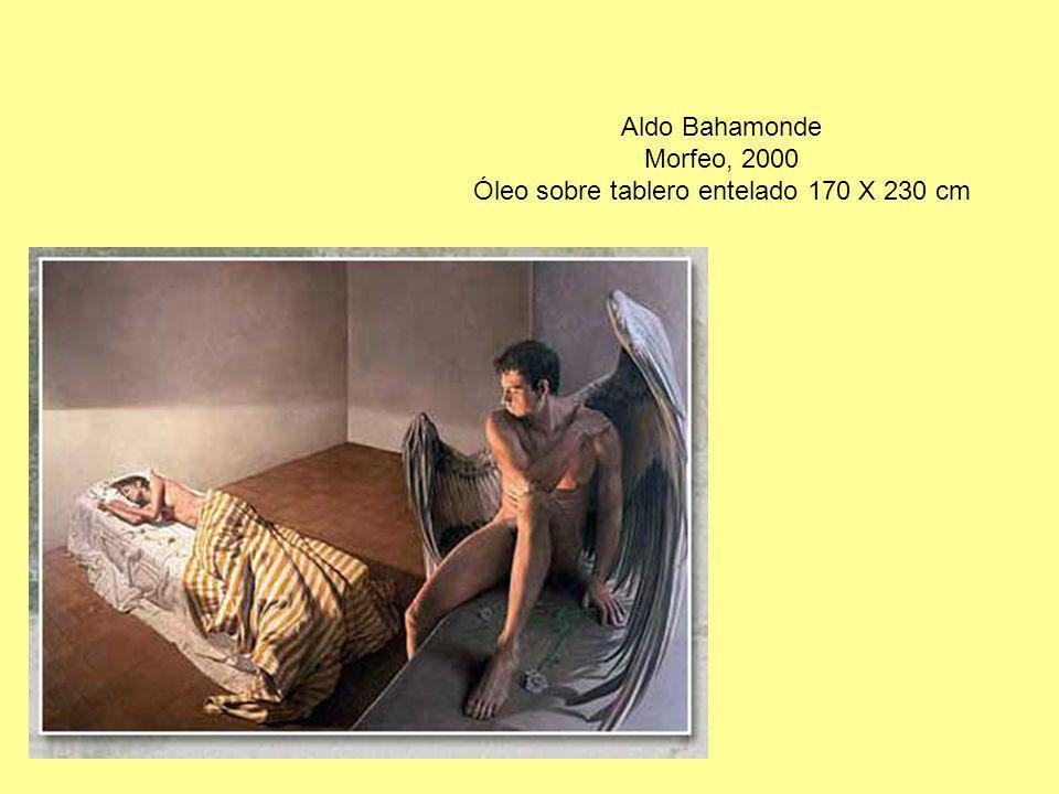 Aldo Bahamonde Morfeo, 2000 Óleo sobre tablero entelado 170 X 230 cm