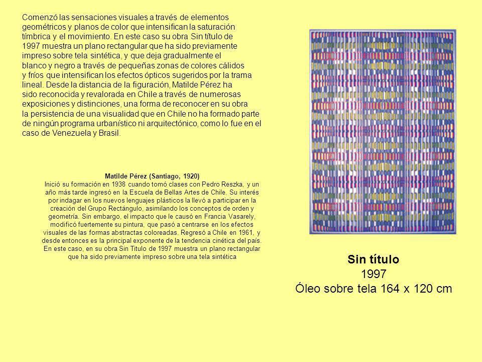 Gracia Barrios De la calle, 1984 Técnica mixta sobre tela 192 x 160 cm