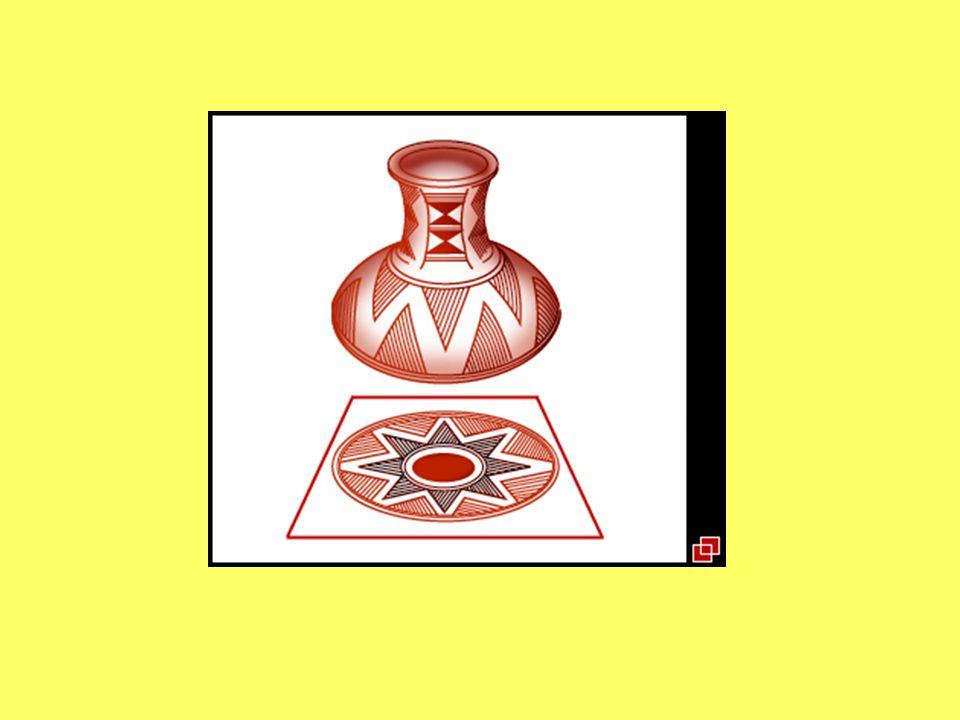 Su cerámica se caracteriza de preferencia por objetos de color rojo o negro y, a veces, de color café, pulidos.