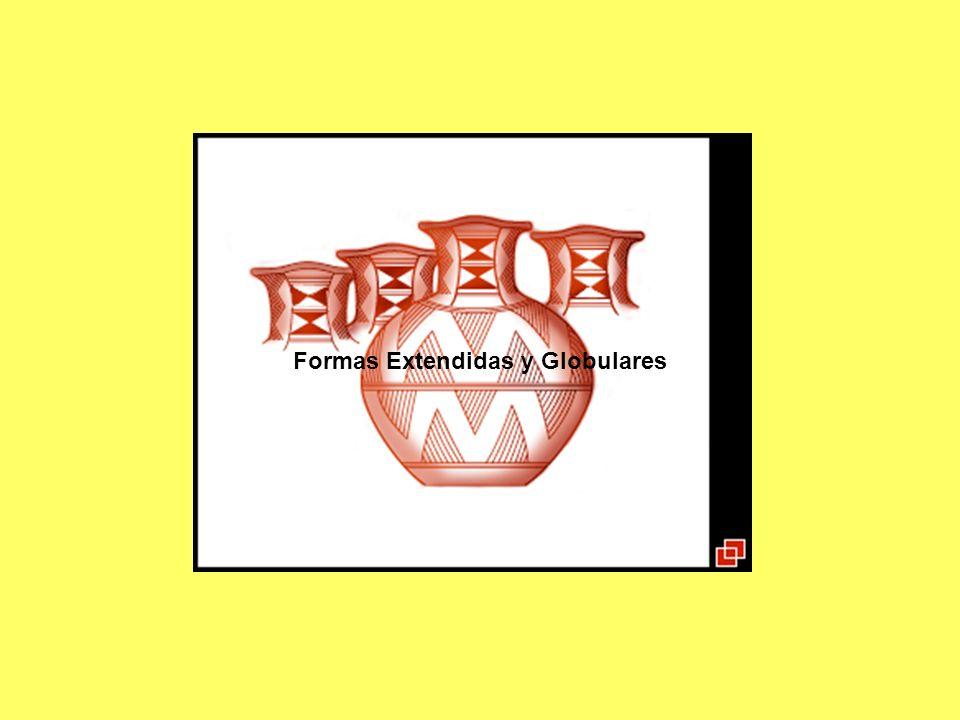 Fase Cabuza En lo relacionado con su cultura material, la fase Cabuza entrega algunos vasos del tipo kero y otros más pequeños como tazas sin asa, escudillas bajas y jarros, los que sobre el color rojo natural de la greda llevan algunos trazos de color negro con elementos gráficos constituídos por líneas onduladas regulares dispuestas, por lo general, en sentido vertical; series de triángulos equiláteros apoyados sobre una base lineal recta vertical configurando una especie de área aserrada siguiendo la lineatura señalada.
