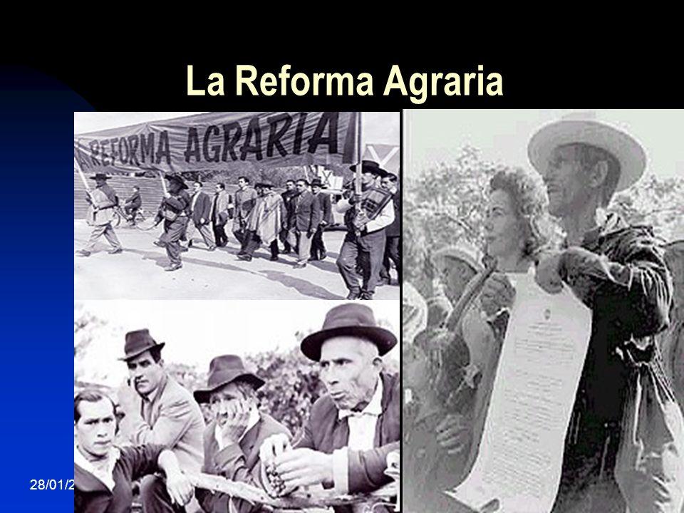 La Reforma Agraria 28/01/201440