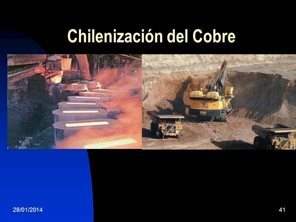 Chilenización del Cobre 28/01/201441