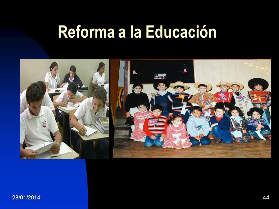 Reforma a la Educación 28/01/201444