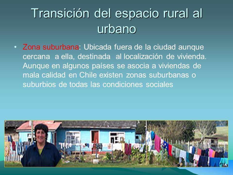 Centralización y concentración, afectan el espacio rural Descentralización: Se fomenta la capacidad de autogestión de un territorio, de manera que sea