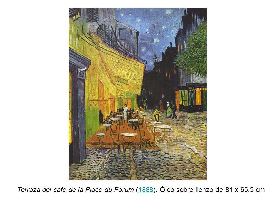 Terraza del cafe de la Place du Forum (1888). Óleo sobre lienzo de 81 x 65,5 cm1888