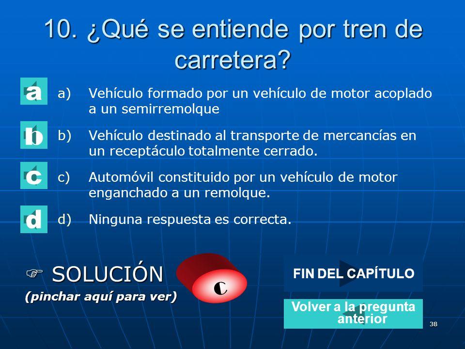37 9. Un vehículo que sobrepase los límites sobre pesos y dimensiones establecidos en la normativa de circulación: a) Podrá circular bajo la forma de
