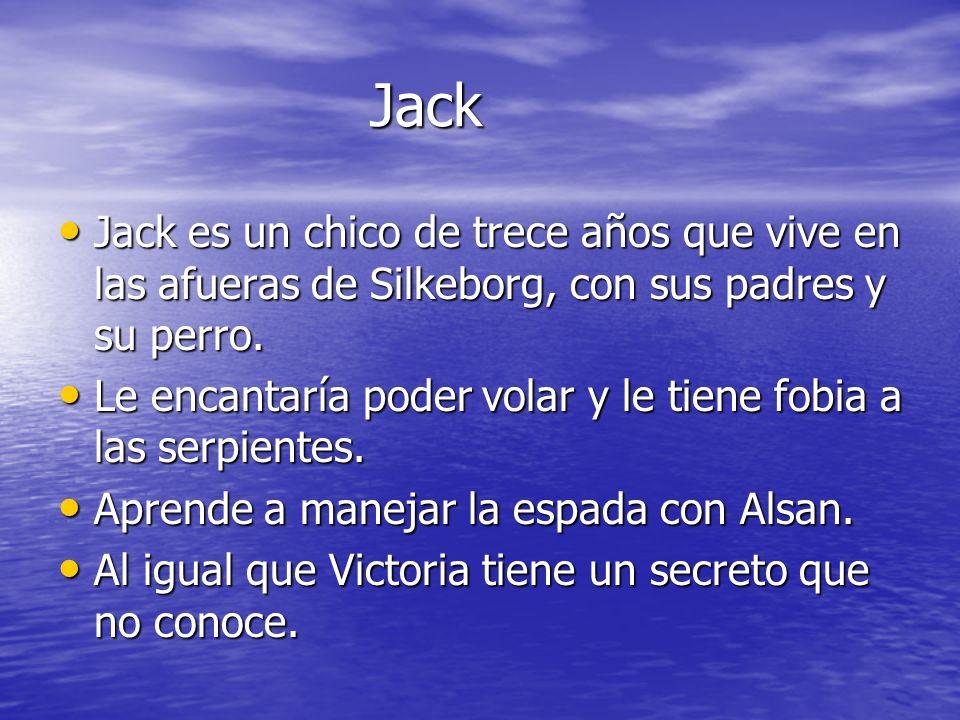 Jack Jack Jack es un chico de trece años que vive en las afueras de Silkeborg, con sus padres y su perro. Jack es un chico de trece años que vive en l