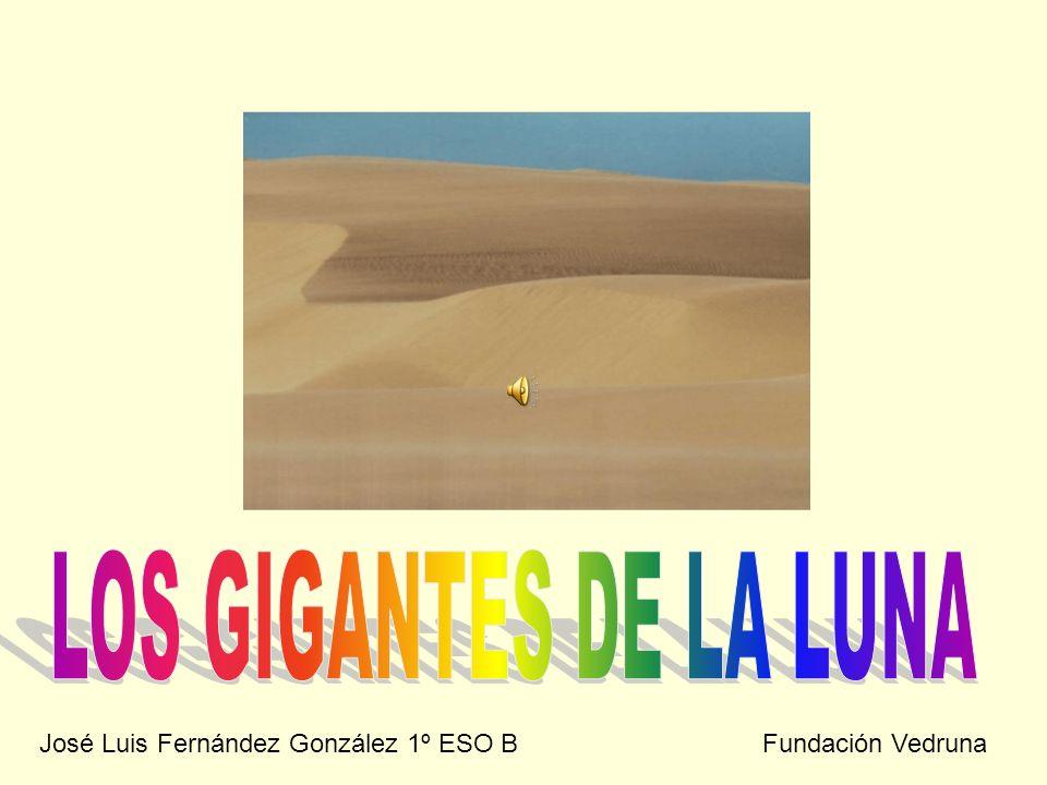 José Luis Fernández González 1º ESO B Fundación Vedruna