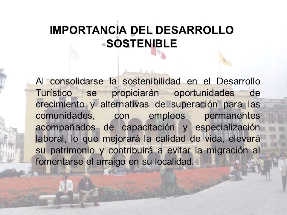 La sustentabilidad representa una exigencia del mercado.