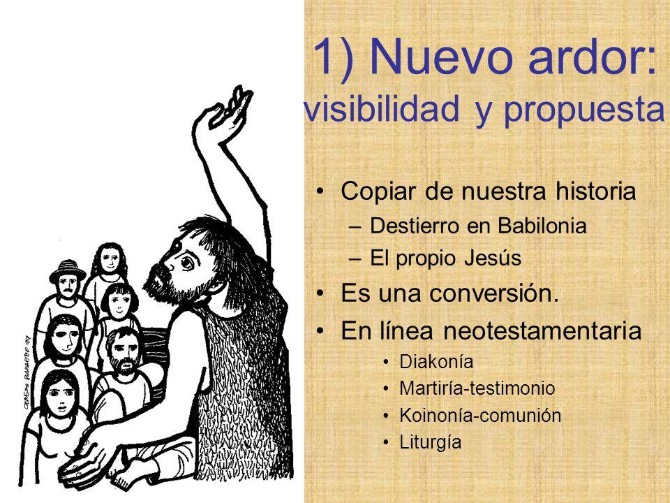 Copiar de nuestra historia –Destierro en Babilonia –El propio Jesús Es una conversión. En línea neotestamentaria Diakonía Martiría-testimonio Koinonía