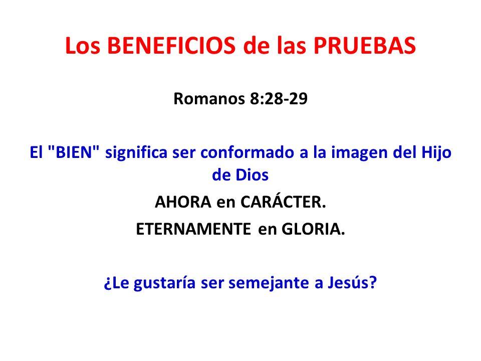 1.Aprender a depender de Dios.