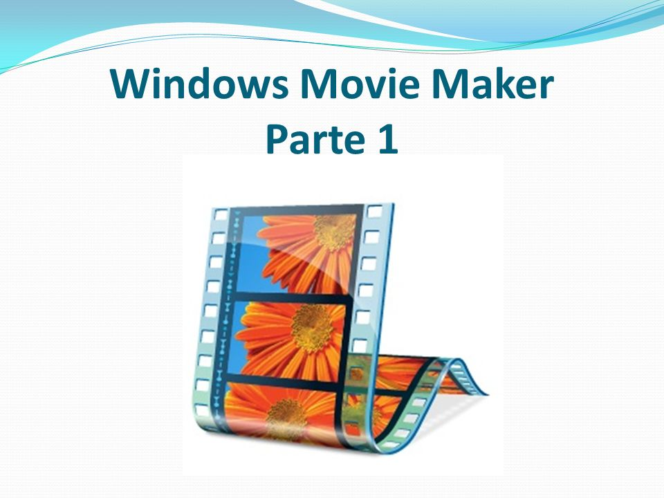 Objetivos Demostrar que es Windows Movie Maker. Como crear un proyecto en windows movie maker.