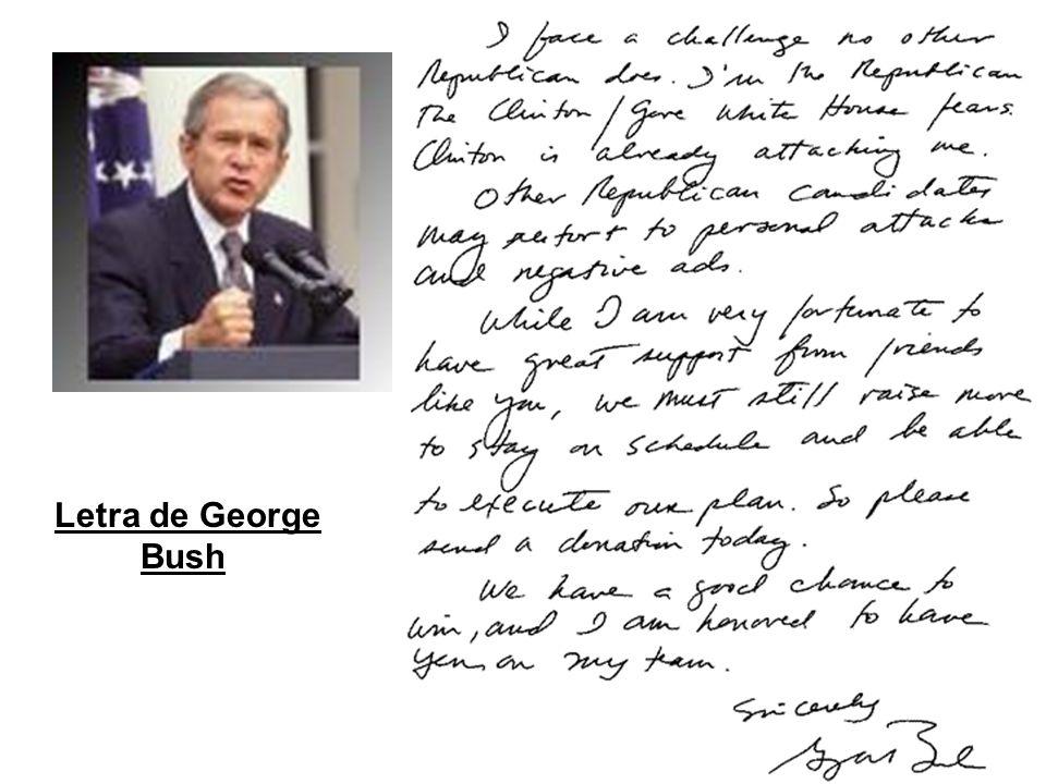 Letra de George Bush