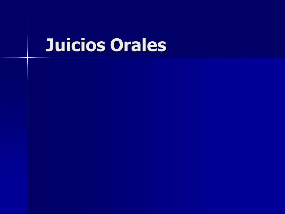 Principios básicos que rigen el Juicio Oral Centralidad.